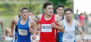 Cristian Stoean a prins podiumul şi la etapa a 3-a la Naţionalele de atletism, în proba de 1.500 m