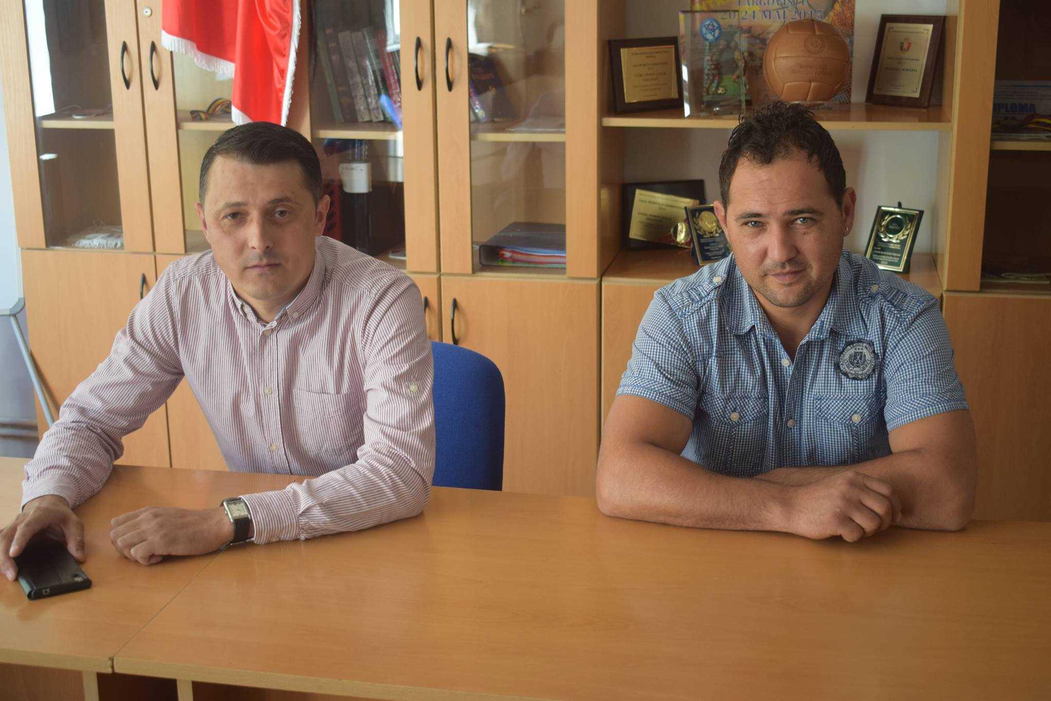 Cornel Patrascanu si Mihai Prodan