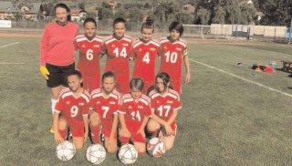 CSŞ Târgovişte a luat argintul naţional la fotbal feminin tineret-speranţe
